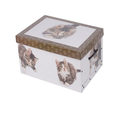 italian decorative cardboard storage box bedroom underbed