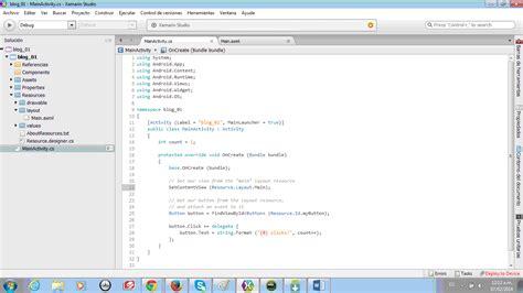 tutorial xamarin c dw software tutorial desarrollo de aplicaci 243 n para