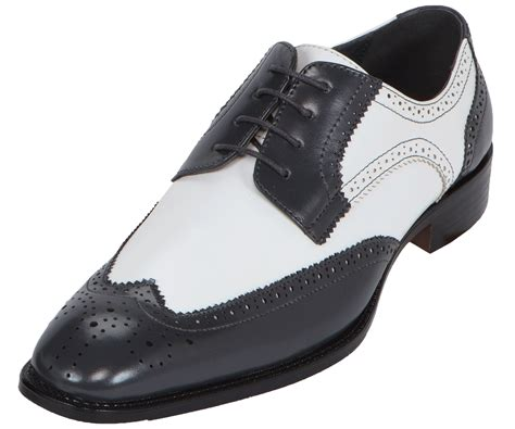 mens black and white wingtip oxford shoes 28 images