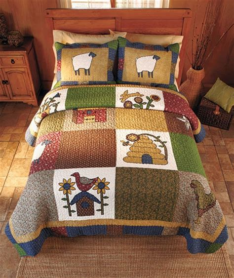Country Patchwork Quilts For Sale - 17 best images about patchwork quilt applique on