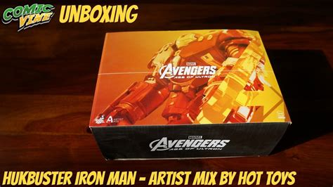 unboxing hulkbuster iron man artist mix collection