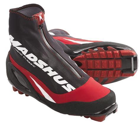 cross country ski boots madshus nano carbon classic cross country ski boots nnn