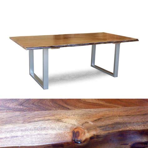 tisch gestell tisch kerala massivholz esstisch 180x100 cm akazie