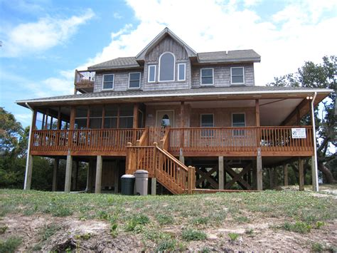Realty And Cabin Rentals by Modern Open Home Ocracoke Island Realty Vacation