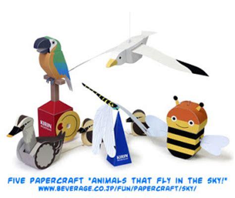 Kirin Papercraft - ninjatoes papercraft weblog five papercraft quot animals
