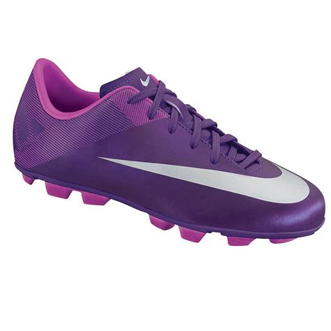 purple football shoes nike mercurial victory ii vtr junior football boots