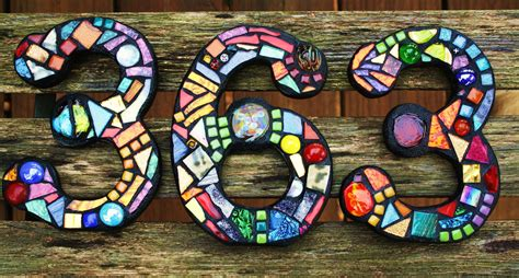 mosaic tile house entrancing outdoor wall decoration with colorful mosaic tile glass house number
