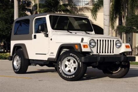 Jeep Wrangler Unlimited Towing Find Used 2005 Jeep Wrangler Unlimited 4x4 Tow Package 6
