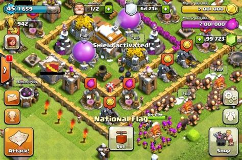 game hacker clash of clans mod clash of clans screenshots city building games