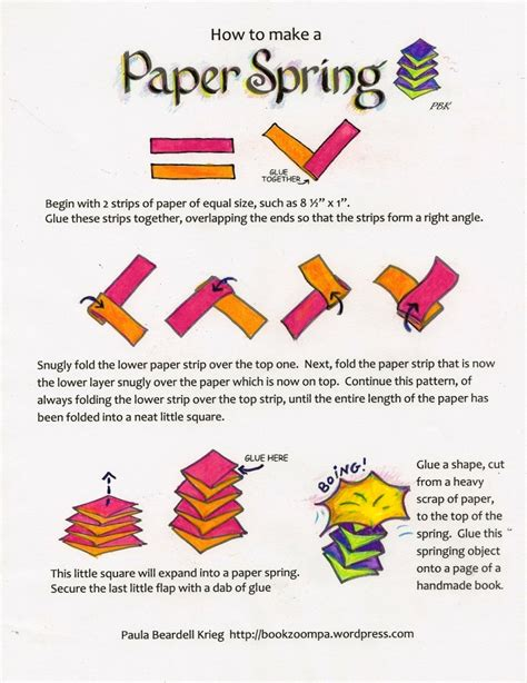 How To Make A In Paper - how to make a paper playful bookbinding and paper