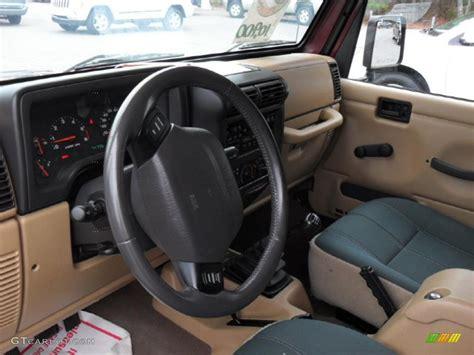 jeep sahara interior 2001 jeep wrangler sahara 4x4 interior photo 44903646