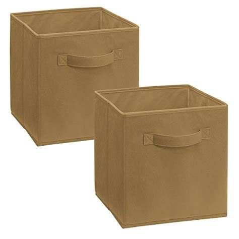 Closetmaid Cubeicals Fabric Drawers closetmaid 8296 cubeicals fabric drawer mocha 2 pack 075381082969 toolfanatic