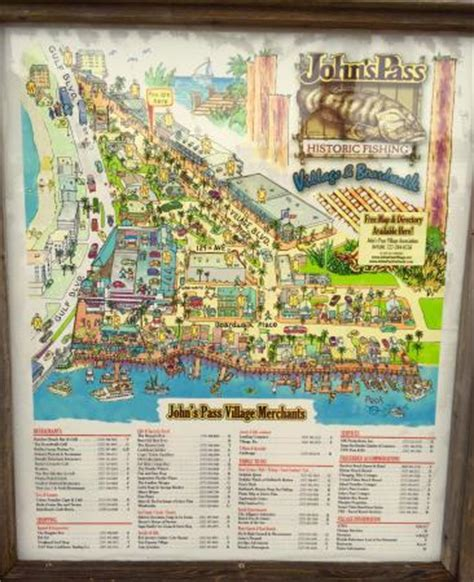 map of johns pass florida great place picture of s pass and boardwalk