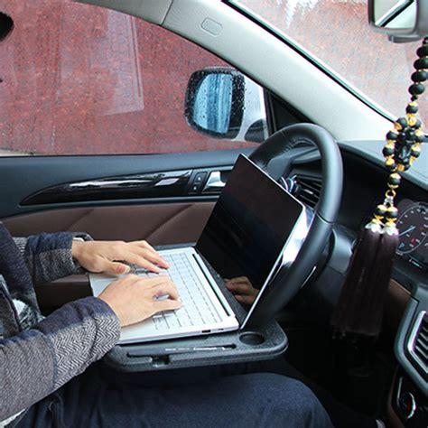 Car Desk by Portable Car Desk Laptop Computer Table Steering Wheel Eat