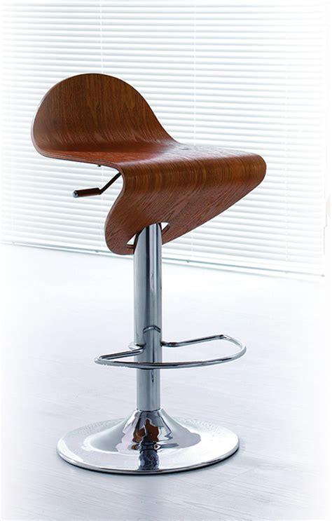 modern furniture bar stools contemporary light zebrano wood finish curved bar stool