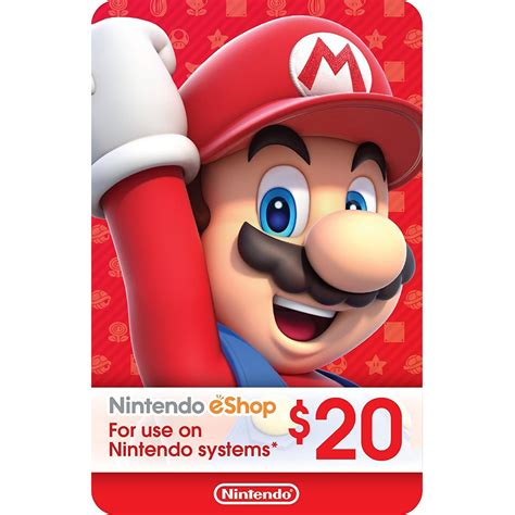 Nintendo E Shop Gift Card - ecash nintendo eshop gift card 20 digital code flash game shop