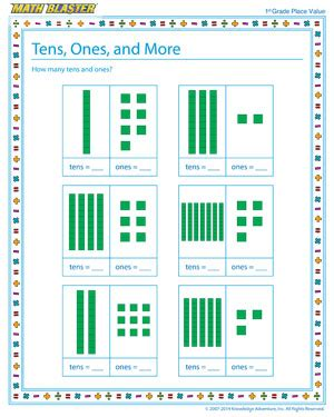 place value worksheets tens amd ones new calendar