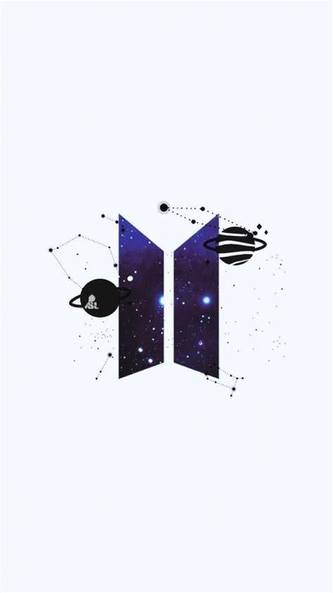 bts logo galaxy icon starry space purple bts tattoos