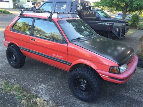 subaru justy rally 1991 subaru justy