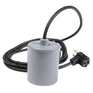 float switch with piggyback plug 115 vac from cole parmer