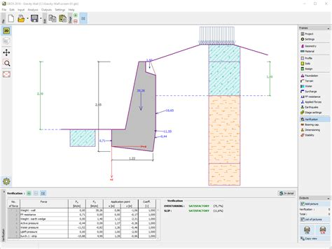Gravity Retaining Wall Design Spreadsheet by Gravity Retaining Wall Excellent Masonry Retaining