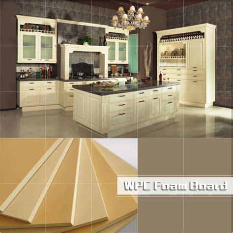 wpc foam board wpc furniture board waterproof kitchen