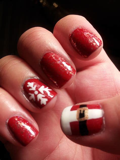Manicure Di Sassi unghie natalizie cento idee per la manicure delle feste