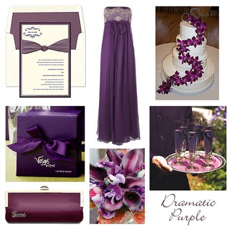 wedding colour themes purple tbdress blog create your wedding colorful by adding