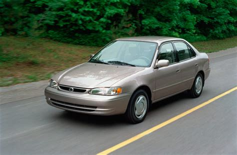 gas mileage corolla 1996 toyota corolla mpg