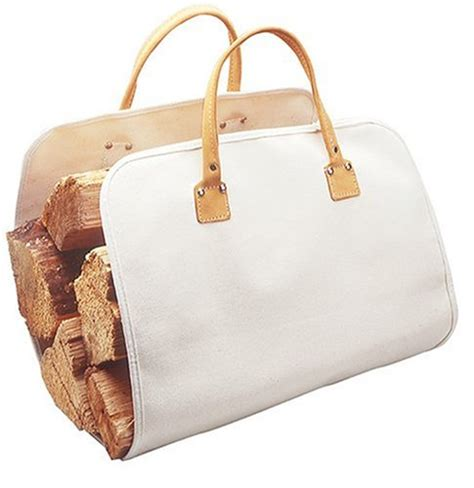 new large fireplace firewood log caddy carrier