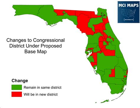 congressional districts map the complete breakdown of florida s proposed congressional