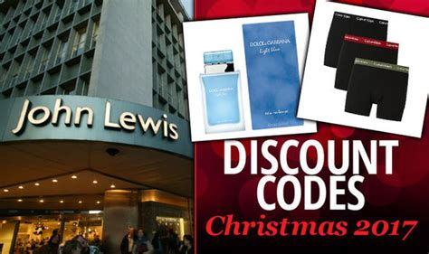 discount vouchers john lewis john lewis discount code insider tips on christmas 2017
