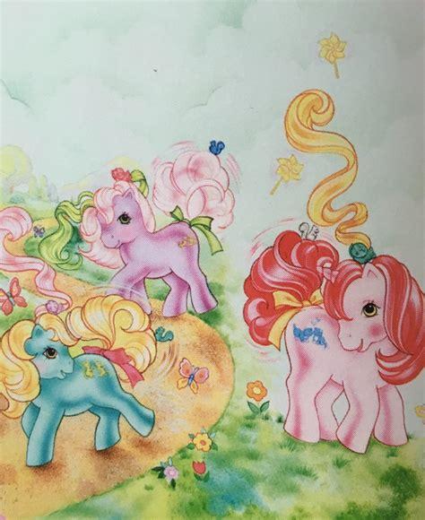 my pony painting vintage my pony yello80s