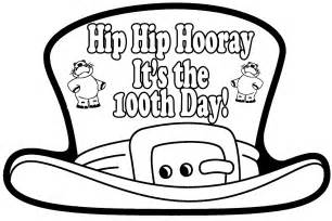 100th day hat template and s kindergarten kreations snow day and 100th