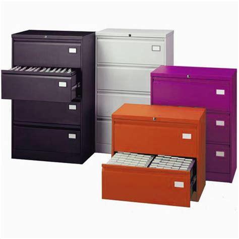 Purple Filing Cabinet Silverline 3 Drawer Side Filing Cabinet Purple
