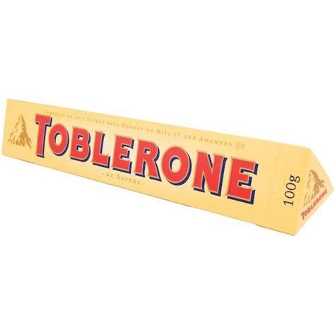 Toblerone 100gr Toblerone Milk 100 toblerone milk chocolate bar 100g 12 pack foods