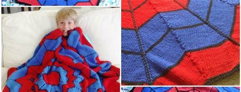 knitting pattern for spiderman blanket knit spiderman blanket pattern free beesdiy com