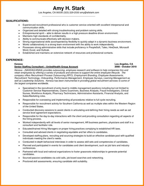 Resume Exles by 17049 Communication Skills Exles For Resume