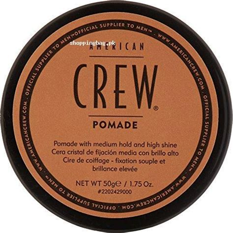 Pomade King Shine american crew pomade to shine and hold hair price in pakistan