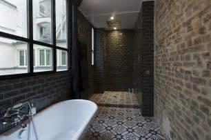 carrelage salle de bain en plaque