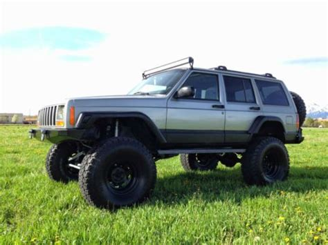 Lifted 2000 Jeep Buy Used Lifted 2000 Jeep Xj Sport Utility 4 Door