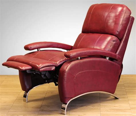 barcalounger leather oracle ii manual recline lounger chair stargo red recliner ebay