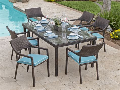 resin outdoor table and chairs modern patio outdoor