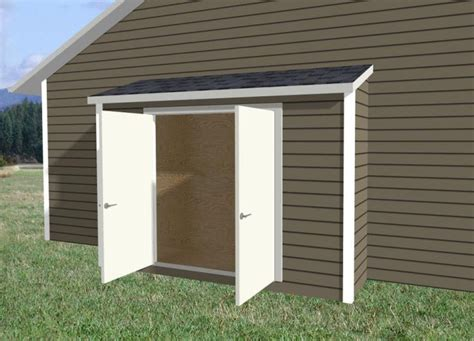 Narrow Garden Sheds by Narrow Storage Shed Along Side Of House Shed Design Single Pitch Roof Style 171 Levlok Sheds