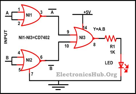 logic gates circuits projects www imgkid the image