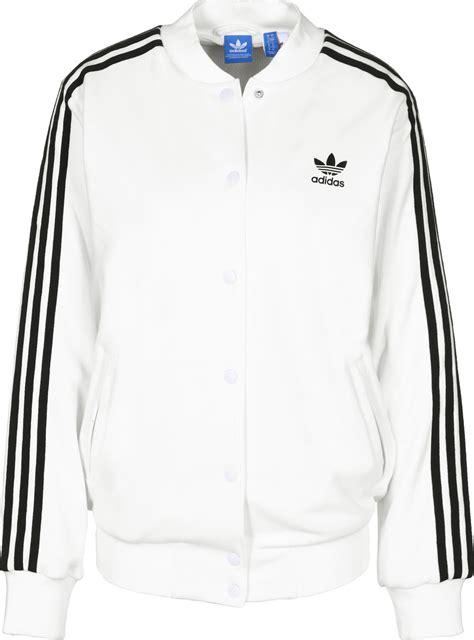 Jaket Adidas 3 Stripe adidas 3 stripes w bomber jacket white black