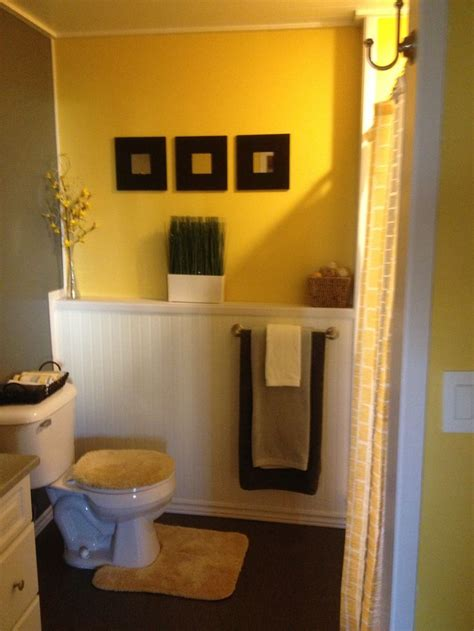 yellow and brown bathroom yellow and brown bathroom ideas bathroom design ideas