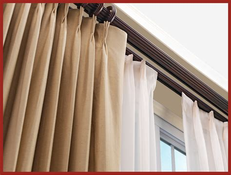 traverse curtain rods traverse rod curtains pinch pleated drapes for traverse