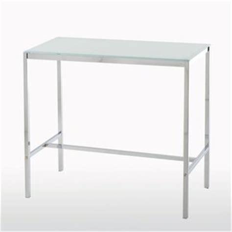 table haute verre table haute verre trempe
