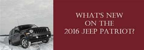 By Emarketing Posted In Jeep Jeep Patriot New Cars On Monday | what s new on the 2016 jeep patriot akins ford akins ford
